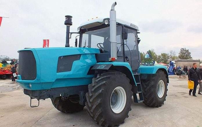 Современный трактор ХТЗ